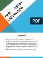 Partnership Liquidation