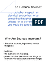 What is an Electrical Source