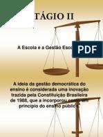 EDUCAÇÃO REPUBLICANA - ESTÁGIO II