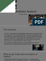 The Machinist Analysis Final