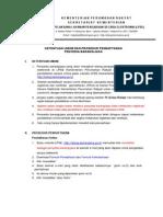 Prosedure Dan Pendaftaran LPSE Kemenpera-2011