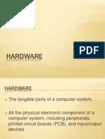 ITEC21 Hardware