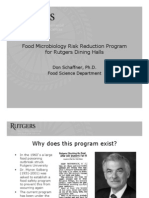 02 DON SCHAFFNER Rutgers University Dining Project