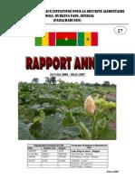 Rapport Annuel PAISA MaBuSen 2006