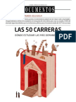 Las 50 Carreras Universitarias más demandadas 2013-2014