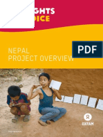 My Rights, My Voice Nepal Project Overview
