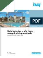 Build Exterior Walls Faster Using Drylining Methods En