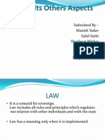 Law & its aspects