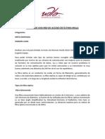 DISEÑO DE UNA RED DE ACCESO DE ÙLTIMA MILLA
