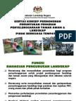 Kertas Konsep Permohonan Peruntukan Program Penyelenggaraan Taman Awam & Landskap Pihak Berkuasa Tempatan