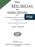El Triunfo Social-Mir y Noguera-Tomo I