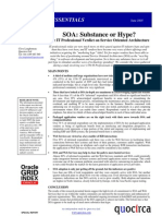 SOA - Substance or hype?