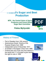 178-13 - Pekka Myllymaki - Finlands Beet and Sugar Sector