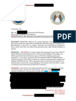 December 2010 NSA Memo to SCCI on Cell Phone Location Data