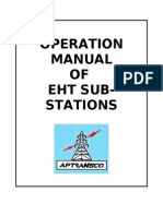 124276719 Operation Manual of EHT Sub Station