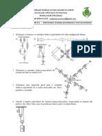Lista de exercícios 01 - Sistemas translacionais e rotacionais (2)