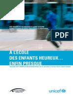 UNICEF FRANCE Violences Scolaires Mars 2011(1)
