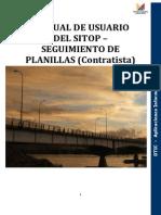 Manual Sitop Planillas Contratista