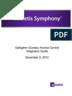 Gallagher(Cardax)AccessControl IntegrationGuide Nov2 2012