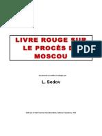 Le livre rouge sur le procès de Moscou
