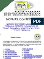 3. NORMAS ICONTEC 1486