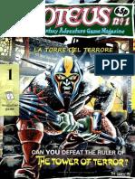 Magazine Game - 01 - Proteus 1 - La Torre Del Terrore