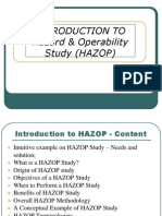 Day 2 - Hazop Methods
