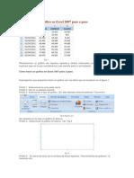 Cómo hacer un gráfico en Excel 2007 paso a paso