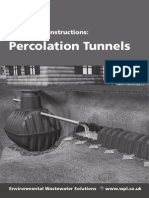 WPL Ltd Percolation Tunnel Manual