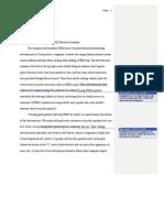 ccruz rhetorical analysis project feedback