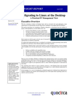 Migrating to Linux at the desktop