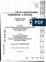 Inhibation of Vapour Phase Corrosion
