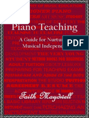 Piano Teaching | Music Education | Piano