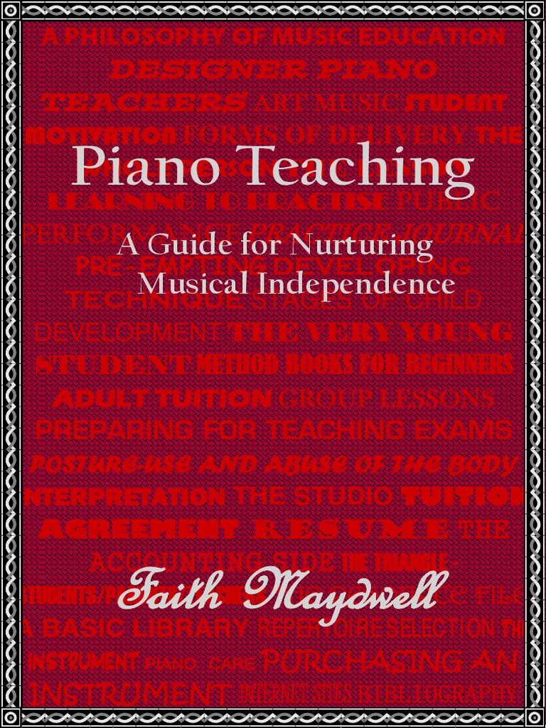 Piano teaching music education piano fandeluxe Choice Image