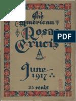 The American Rosae Crucis, June 1917