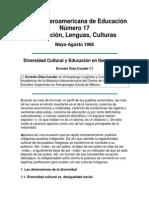 Diaz Couder, Ernesto Diversidad Cultural y Educacion en Iberoamerica