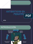 Antibioticoterapia en Pdt