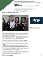 18-11-2013 'Rotarios y Municipio Trabajaran Juntos Para Las Causas Nobleza'
