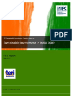 Sustainable Investment in India 2009