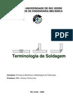 Projeto APOIO ESTUDO Terminologia de Soldagem