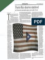 The Washington Times - Why Puerto Rico Deserves Statehood