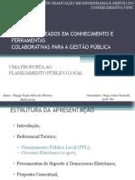 Apresentação da Dissertação - Thiago Paulo - instituto i3G