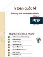 slide Thanh Toan Quoc Te_Chuong Hoi Phieu Nho Thu