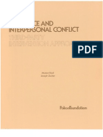 Bard & Zaker - The Police and Interpersonal Conflict