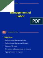 management of labor