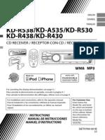 JVC KD-R438