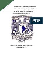 Notas de Finanzas III Temas I y II