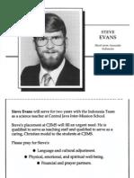 Evans Steve 1991 Indonesia
