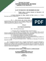 LEI 727 - Código Tributário