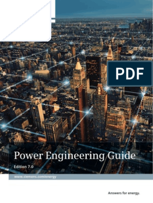 Siemens Power Engineering Guide 70 Power Engineering Power Physics